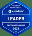 Feedback Management Crozdesk Leader Award