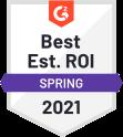 Best Est Roi Spring 2021