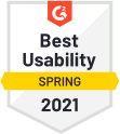 Best Usability Spring 2021