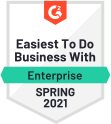 Easiest To Do Business With Ent Spring 2021