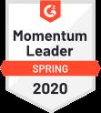 G 2 Live Chat Momentum Leader Q 2 2020