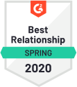 G 2 Orm Best Relationship Q 2 2020