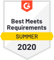 Overall Best Meets Requirements
