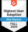 Convo Mkting Mm Highest User Adoption