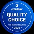 Quality Choice Award Crozdesk 2020