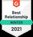 Best Relationship Winter 2021