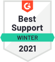 Best Support Overall 2021