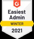Easiest Admin Winter 2021