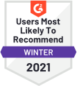 Users Most Likely To Rec Winter 2021