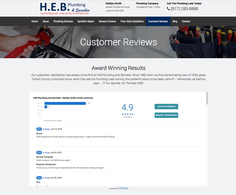 Heb Plumbing Profile