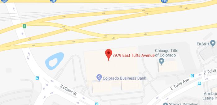 Map Denver