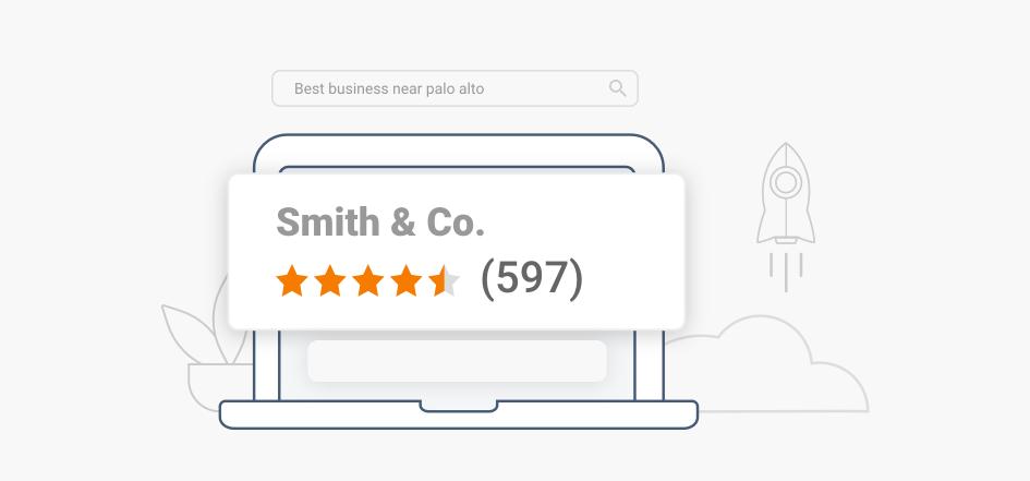 More Reviews More Visibility