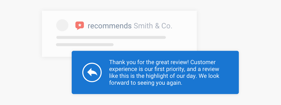 Responding To Positive Reviews