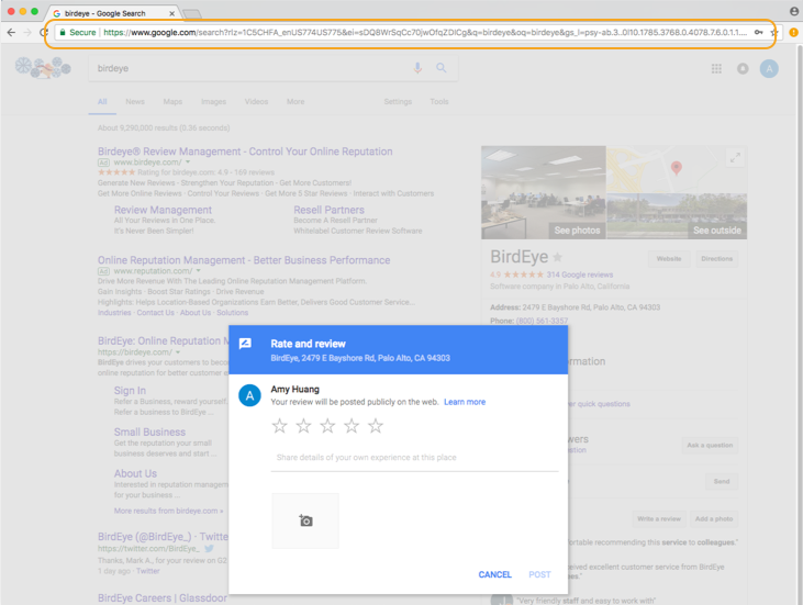Write Reviews On Google