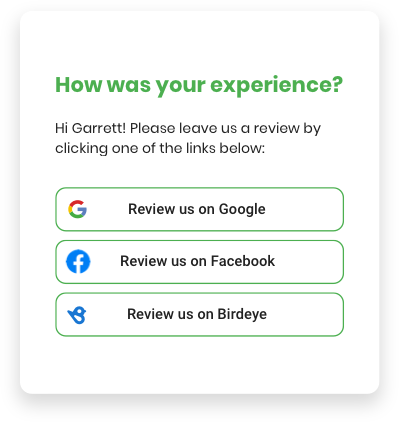 Effortlessly Get New Reviews From Customers