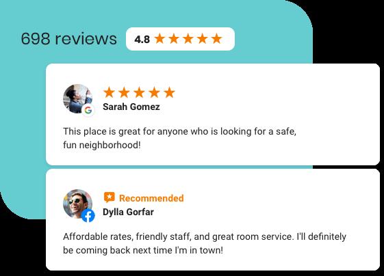 More Reviews Equal More Bookings