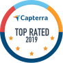 Capterra Top Rated 2019