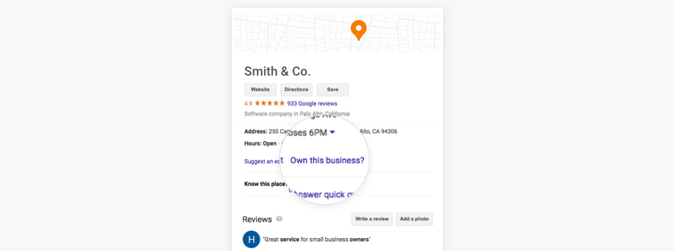 Claim Google My Business Profile