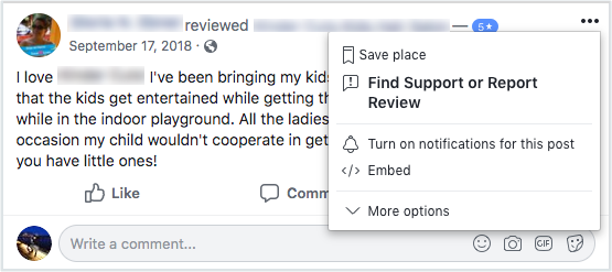 How To Report A Review On Facebook