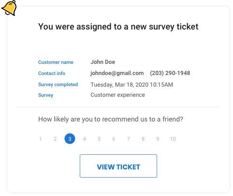 Automatically Turn Responses Into Tickets