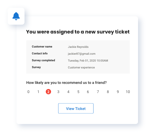 Create Tickets To Follow Up