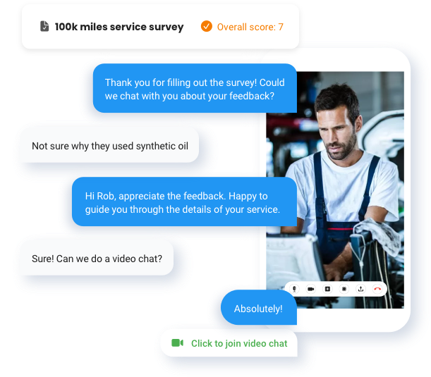 Interact With Survey Responders