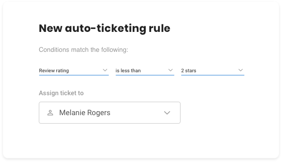 Automatic Ticketing