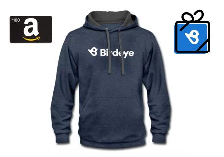 Birdeye Contrast Hoodie