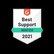 G2 Best Support Winter 2021
