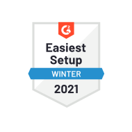 G2 Easiest Setup Winter 2021