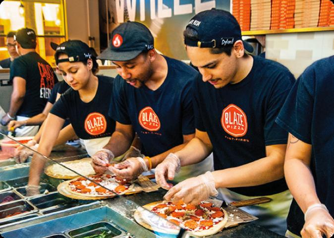 Blaze Pizza Case Studies Splash